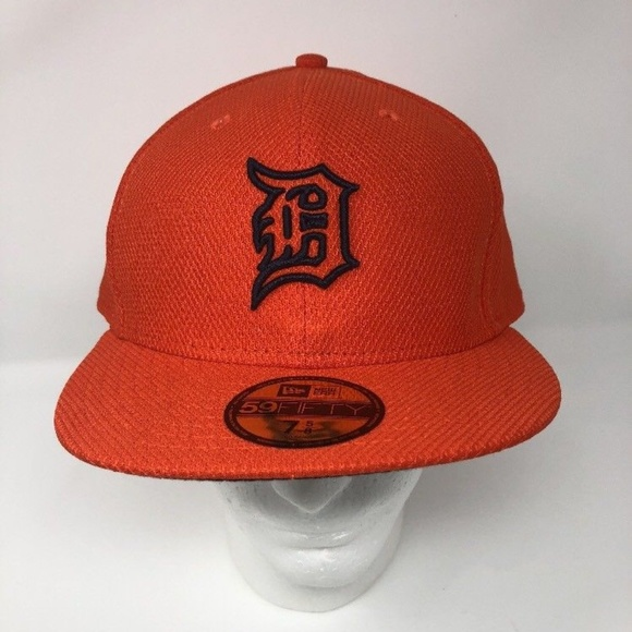 dc5b05fb0c4 New Era Detroit Tigers MLB Fitted Baseball Hat